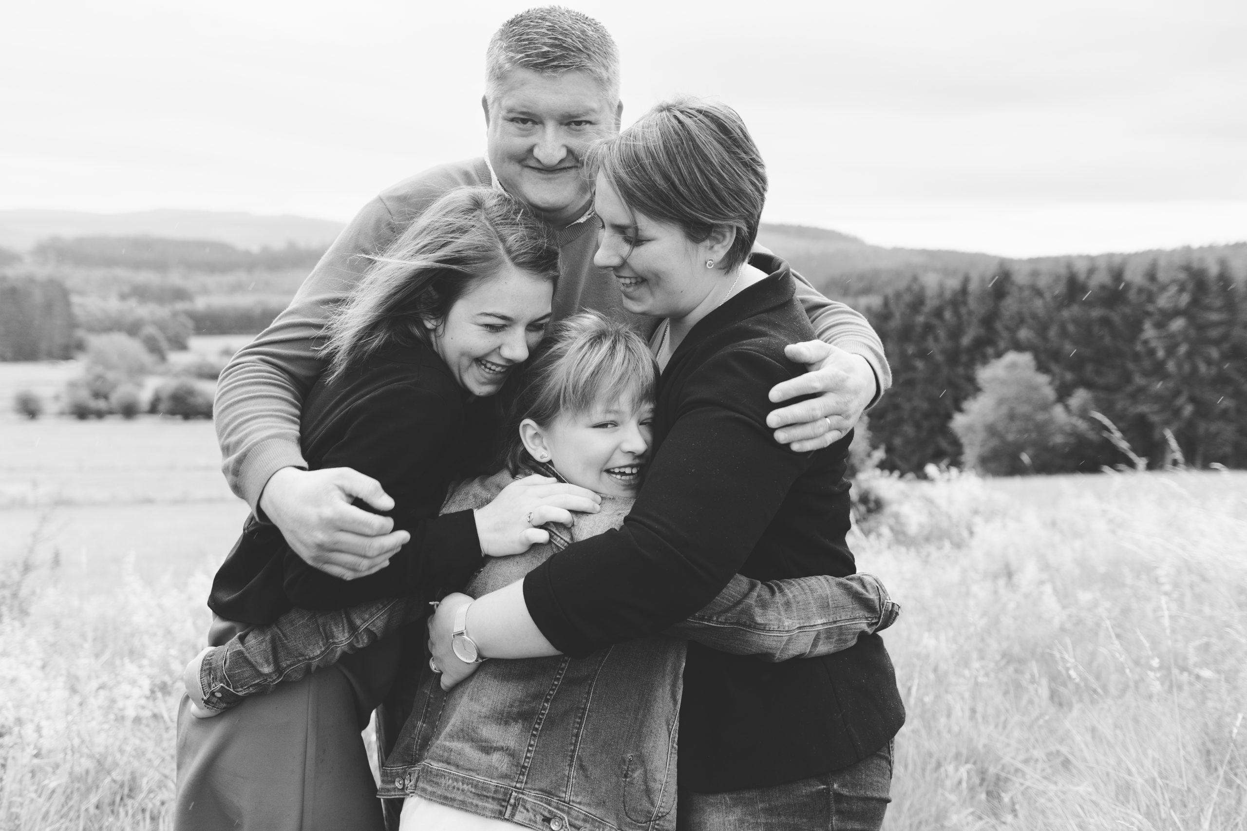 photo famille parents enfants Liège Manhay