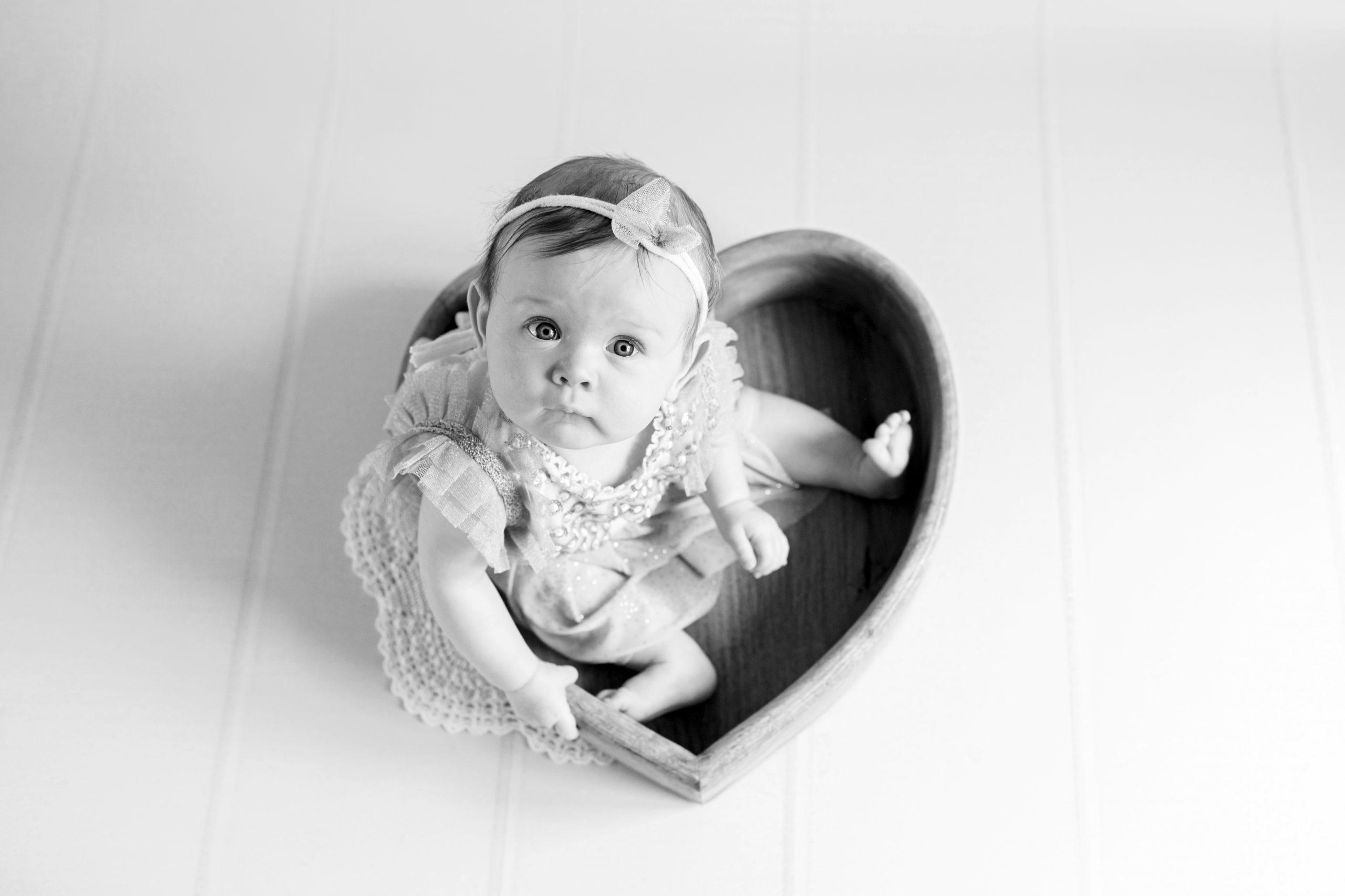Coeur bébé 7 mois photo nouveau-né bébé homeostasie photographie Liège